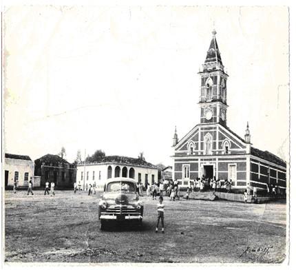 Foto da antiga igreja.Fonte:http://santanadavargem.mg.gov.br/index.php